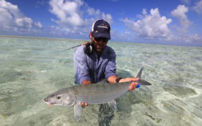 La elección de la mosca en la Pesca de Bonefish Parte 1