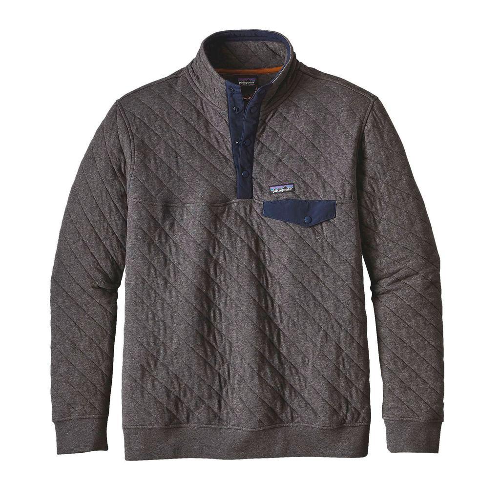 Patagonia Men S Organic Cotton Quilt Snap T Pullover